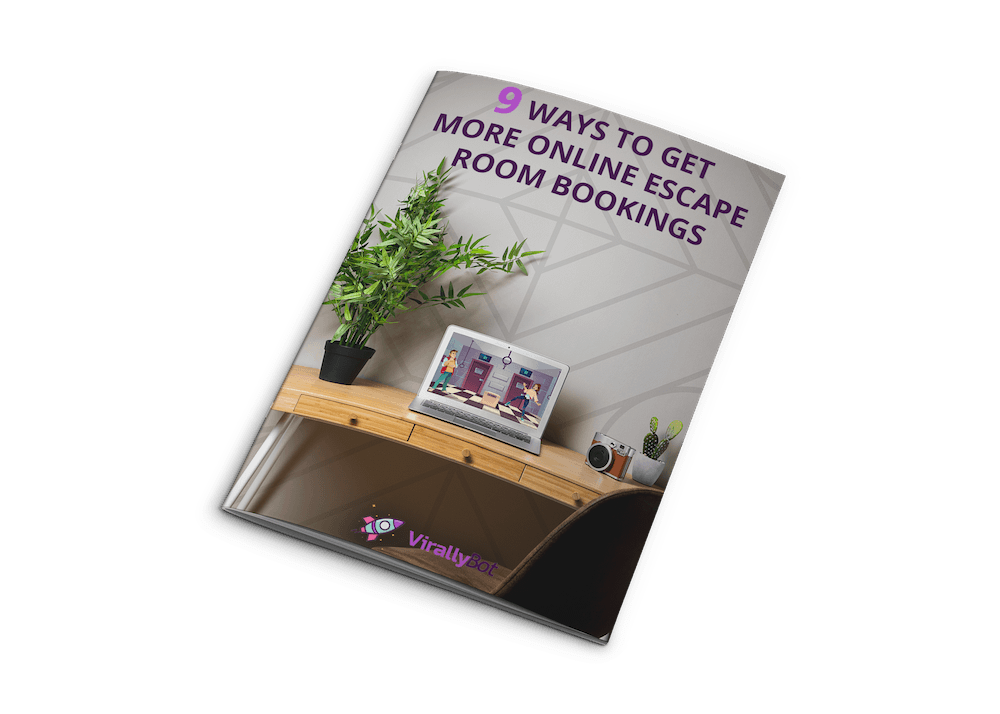 Free 9-Page ONLINE Escape Room Marketing Guide